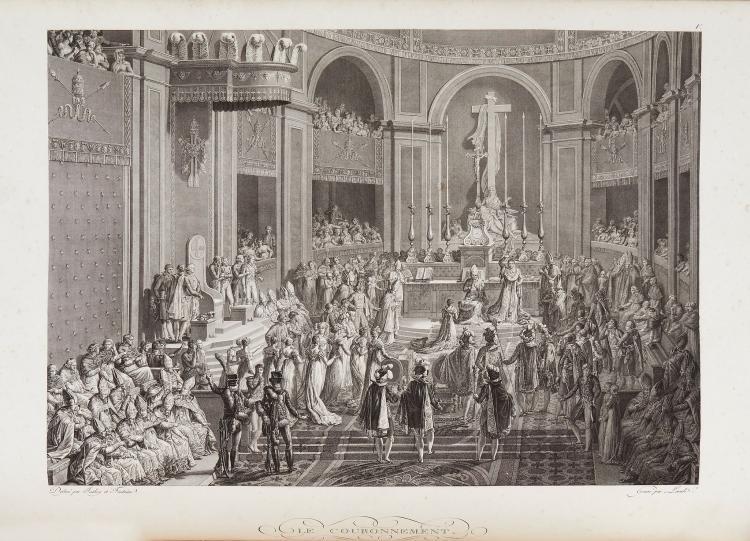 Napoleon I - .- Le Sacre de S.M. l'Empereur Napoléon dans l