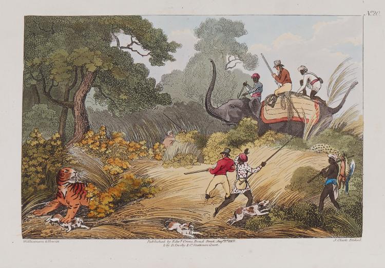 Williamson (Thomas) and Samuel Howitt. - Oriental Field Sports;