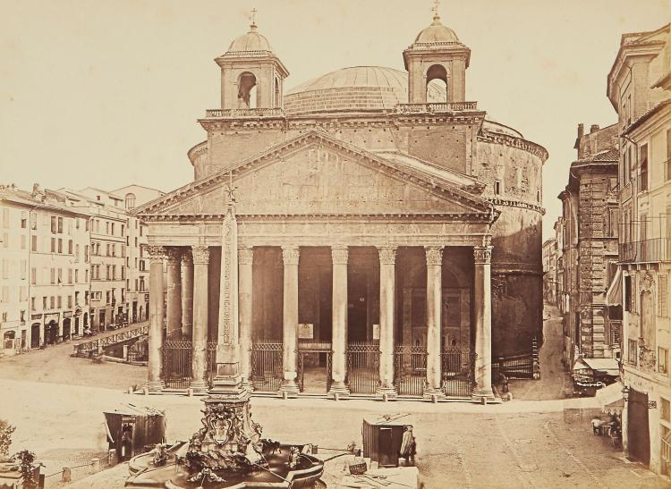 Carlo Naya (1816-1882) and others - Venice and Rome, ca.1875