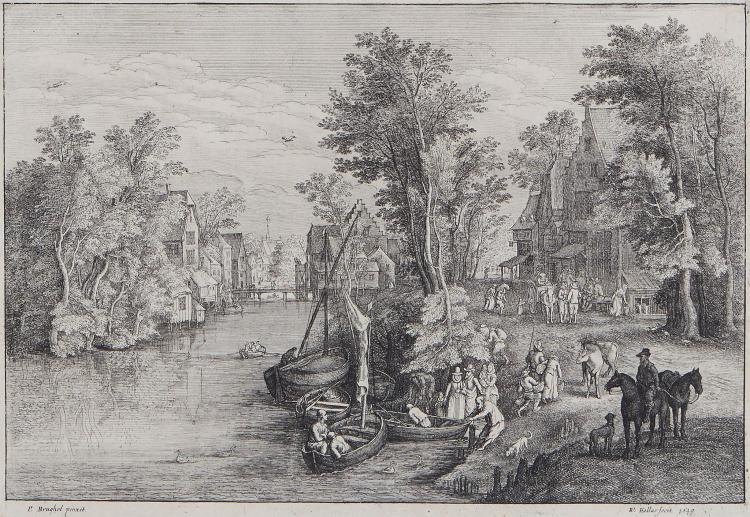 Hollar (Wenceslaus) - The Ferry,