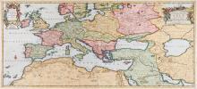 Aa (Pieter van der) - Tabula Geographica quae Continet Totam Fere Europam et Proxima...