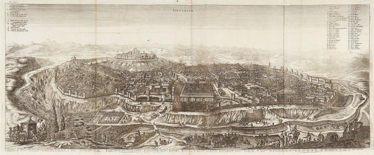 Dapper (Olfert) - Ierusalem,