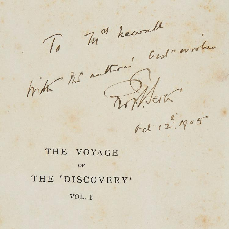 Scott -  The Voyage of the 'Discovery' , 2 vol., first edition