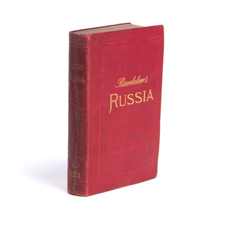 Baedeker (Karl) - Russia with Teheran, Port Arthur, and Peking,