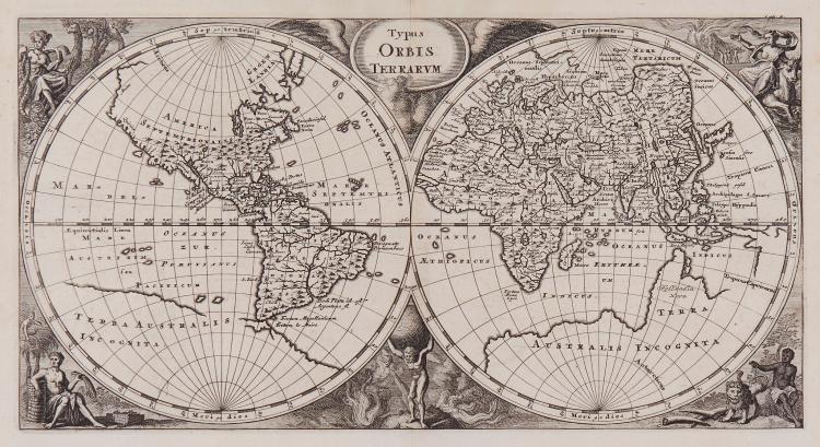 [Cluverius (Philippus)] - Typus Orbis Terrarum,