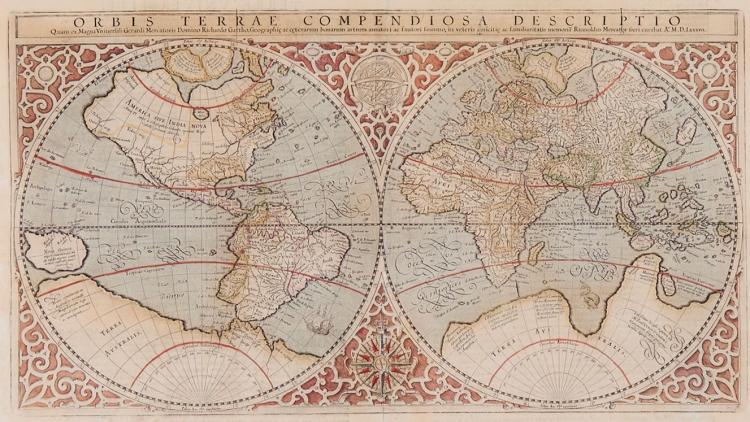 Mercator (Rumold) - Orbis Terrae Compendiosa Descriptio,