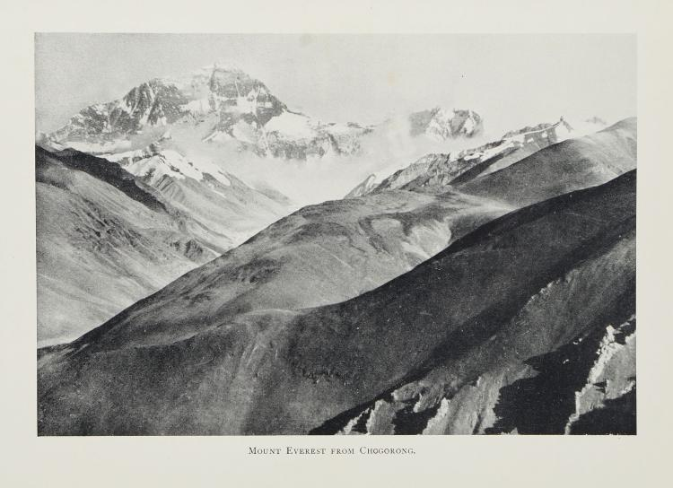 Norton - The Fight for Everest: 1924 , frontispiece and plates, folding map