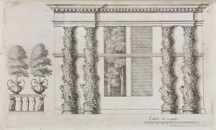 Caus (Salomon de) - Hortus Palatinus