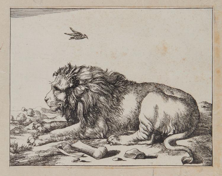 De Bye (Marcus) after Paulus Potter, - A bound set of animal prints,