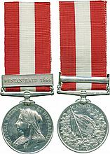CANADA GENERAL SERVICE MEDAL, 1866-1870, single clasp