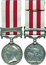 INDIAN MUTINY MEDAL, 1857-1858, single clasp