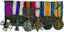 An Impressive Boer War and WWI DSO and '1914' MC Group of 6 awarded to...