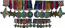 A WW2 and Palestine Campaign AFC Group of 6 awarded to Squadron Leader...