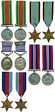 A WW2 DFM Group of 5 awarded to Flight Sergeant Edward William Banks