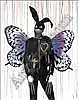 Pure Evil (British) Pearly Queen, 2008 Stencil,  Pure Evil, Click for value