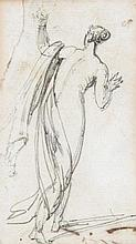 George Chinnery (1774-1852), Draped figure
