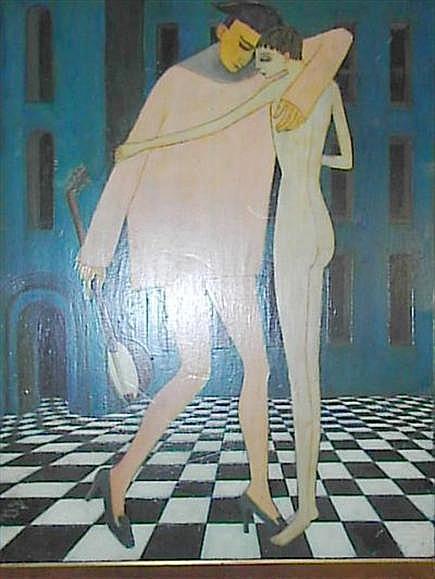 Alex Portner (20th century) 'The Minstrel' Number