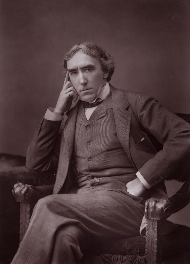 Herbert Rose Barraud (1840-1921) - Sir Henry Irving, 1888; Ellen Terry, ca. 1880