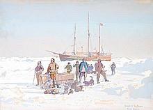 δ Herbert Kerr Rooke (1872-1944). Nansen and