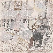 δ Diana Armfield (b.1920). The Bedroom.