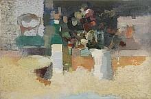 * δ Eric Dobson (1923-1992). Still Life with