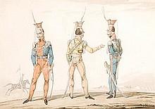 Noel-Dieudonne Finart (1797-1852). Uniforms of the