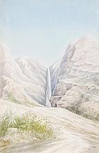 Osmond Romieux (1826-1908). A group of views. Six,