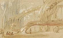 Sir James Peile (1833-1906). Bur Tree at Kooa,