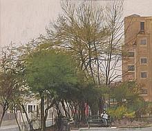 δ William Bowyer (b.1926). Corner of the