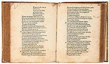 Petrarca (Francesco) - Sonetti e canzoni. Trionfi.,