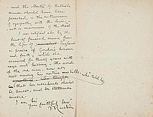 Collection of Autograph Letters to William Thomas Stead