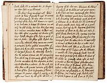 Dissertationes Medica, 2 vol., manuscript, titles and 394pp