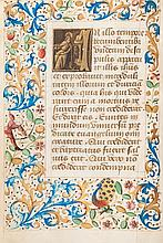 Book of Hours.- - Hours of the Virgin, Use of Rome, &c.;,