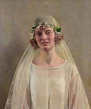 Harold Knight (1874-1961) - The Bride