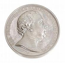 The Horticultural Society of London, Banksian medal, silver, by W