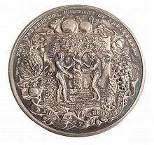 The Worshipful Company of Fruiterers, silver prize medal awarded 1923