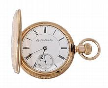 Elgin, National Watch Co., a 14 carat gold keyless