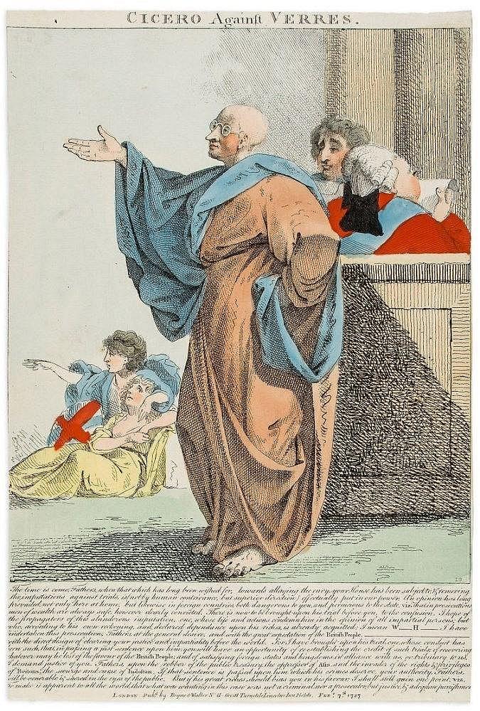 Boyne (John) - Cicero Against Verres,