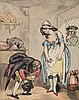 Rowlandson (Thomas) - A group of 6 erotic classical figures,, Thomas Rowlandson, Click for value