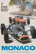 TURNER, Michael (b. 1934) - 25e Grand Prix, MONACO, 1967
