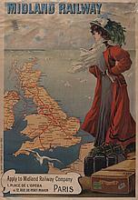 GRAY, H (Henri Boulanger, 1858-1924) - MIDLAND RAILWAY