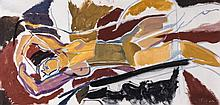 Ivon Hitchens  (1893-1979) - Reclining Figure II