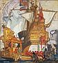 DDS Elija Albert Cox (1876-1955) Design for an Empire