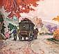 DDS Albert Meindl (1891-1967) A pair of rustic