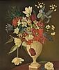 DDS Joan Robinson (fl.1943-1966) Still life of flowers