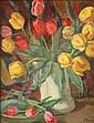 Patricia Preece (1900-1971) Still life of tulips, Patricia Preece, Click for value