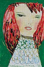 ** Yoshitomo Nara (b.1959) - Untitled (Girl)