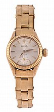 Rolex, Oyster Precision, a lady's 18 carat gold