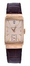 Jaeger LeCoultre, an Art Deco gentleman's 14 carat