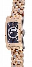 Dunhill, Citytamer, a gentleman's 18 carat gold
